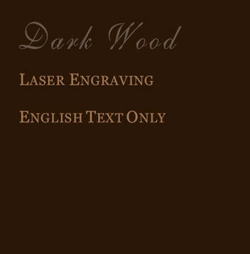darkwood english lettering