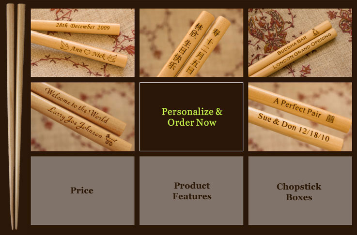 Personalize Your Custom Chopsticks